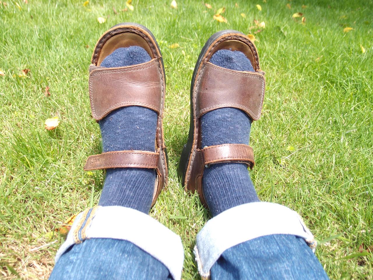 靴底を直すようなタイミング