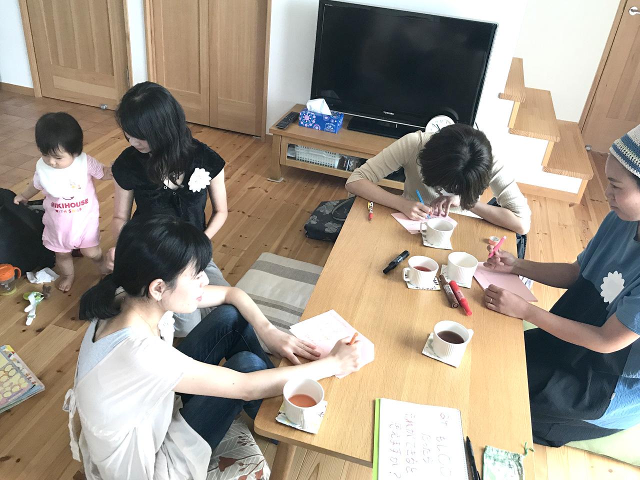 乙女座の新月にワークショップ開催しました