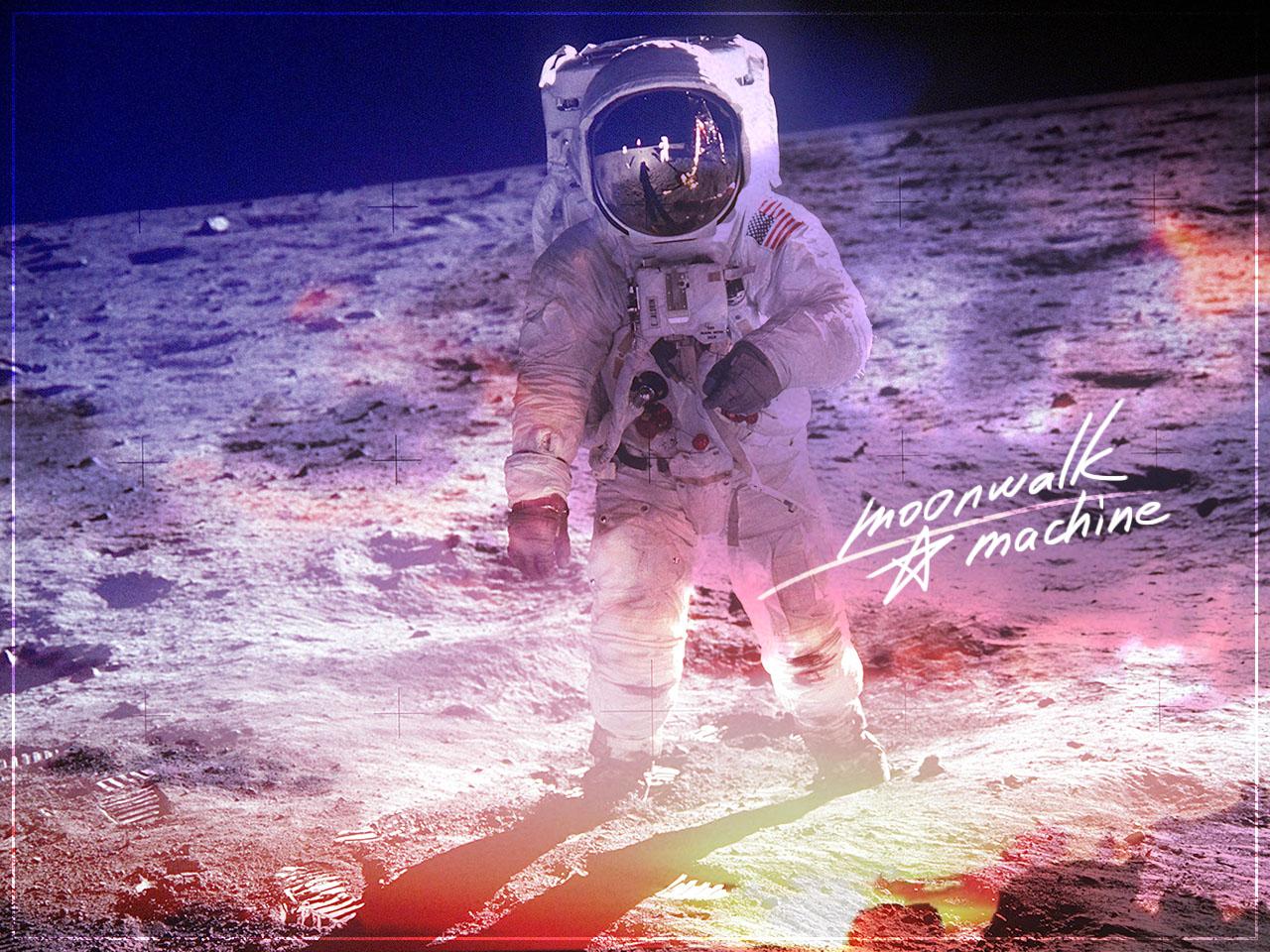 女の子が踏み出す、月面への第一歩。スプツニ子!「ムーンウォーク☆マシン、セレナの一歩」