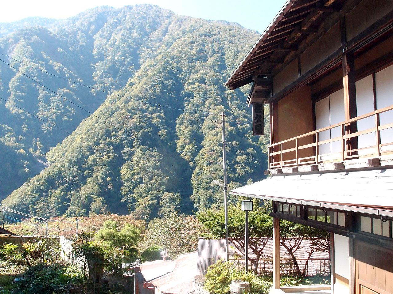 赤沢宿の風景