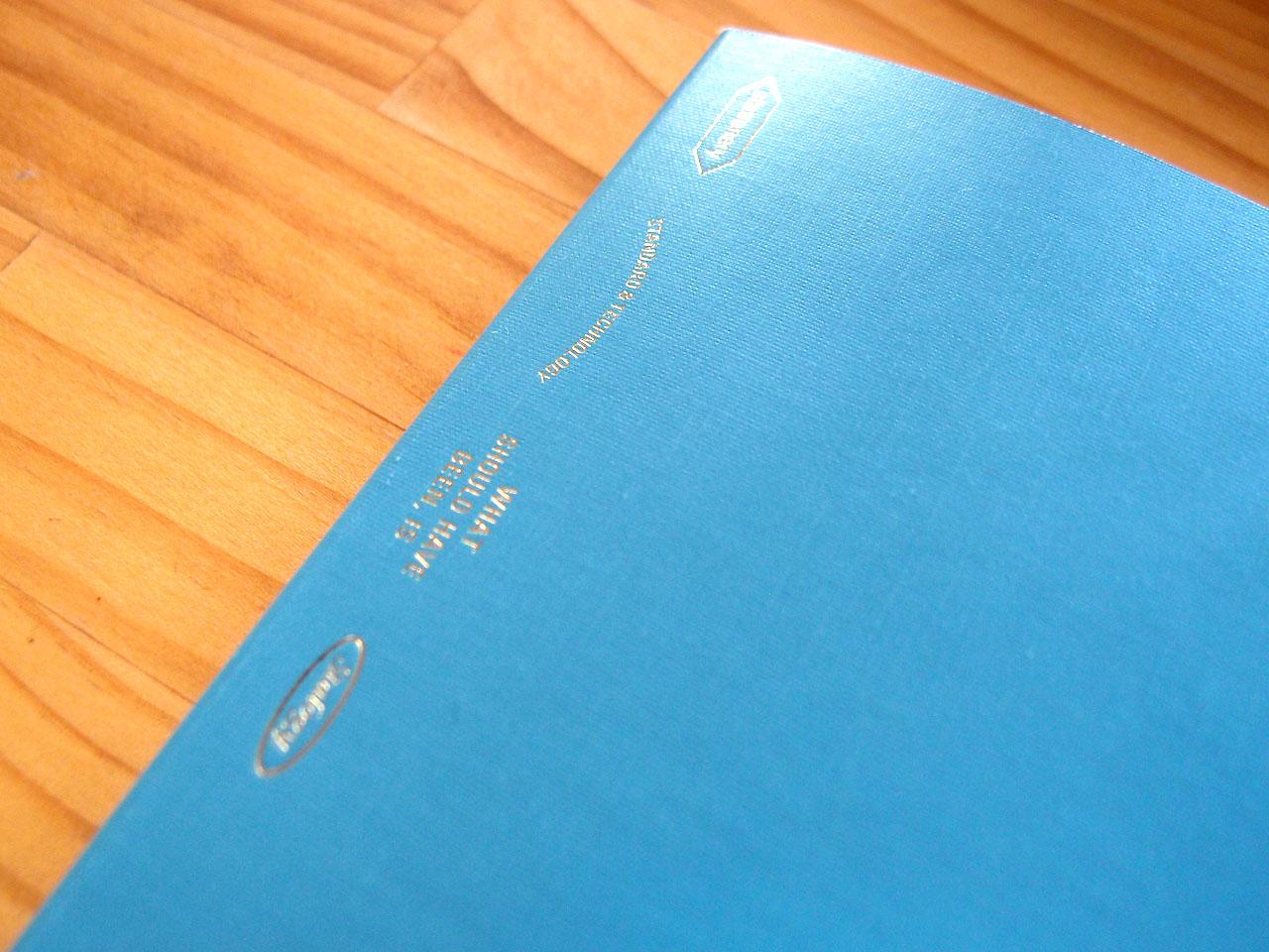 エディターズシリーズ 365デイズノート表紙アップ