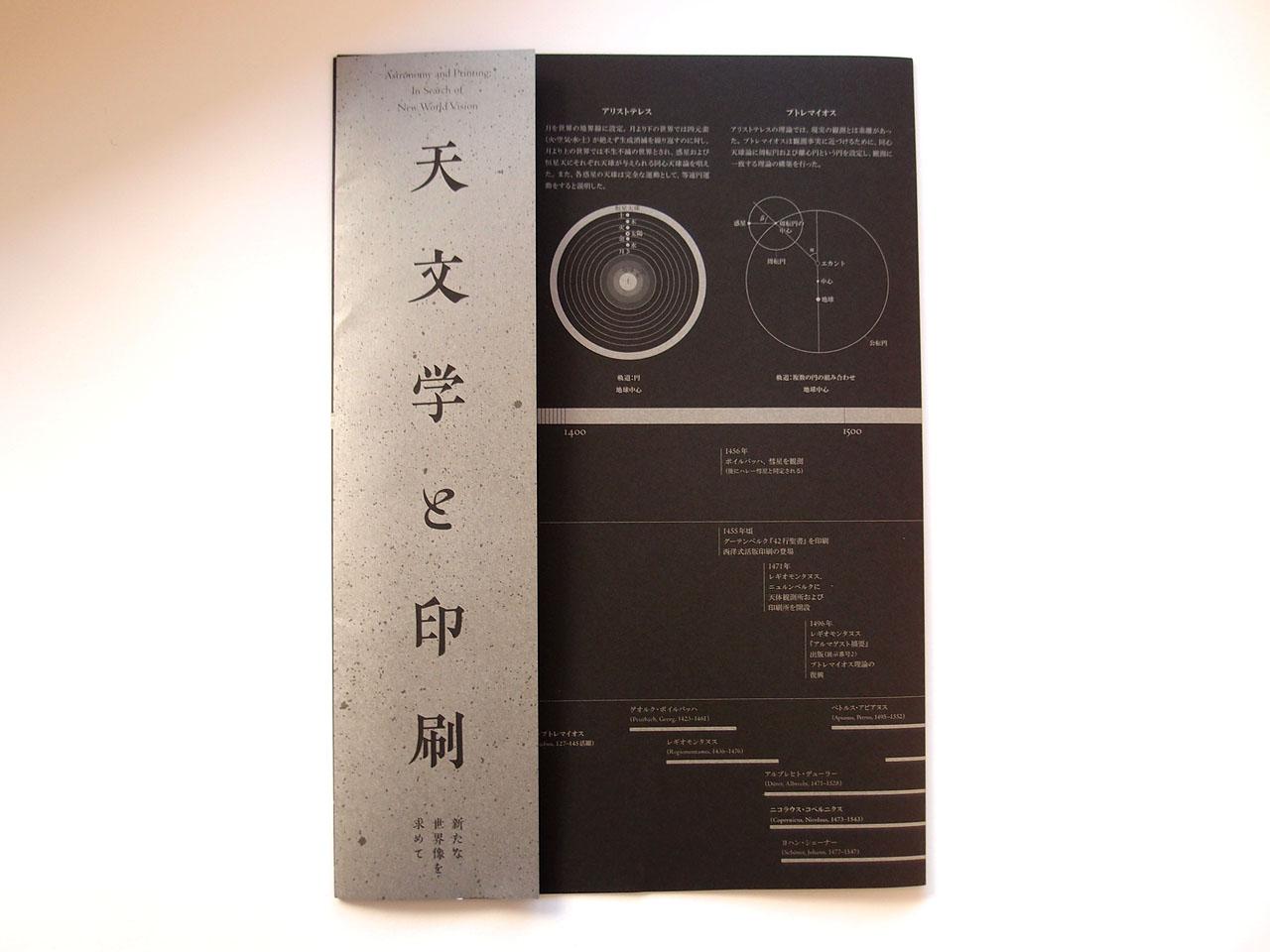 天文学と印刷の資料