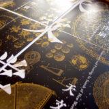 天文学と印刷フライヤー合体