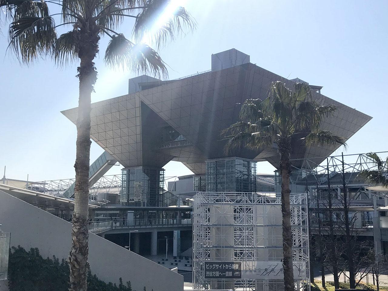 クリエイターEXPO初日:東京ビッグサイト